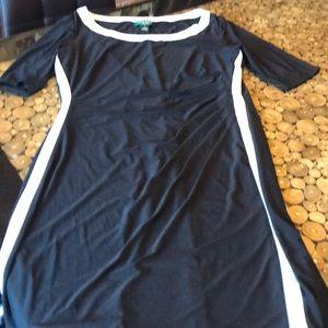 Ralph Lauren dress sexy and slimming sz 14